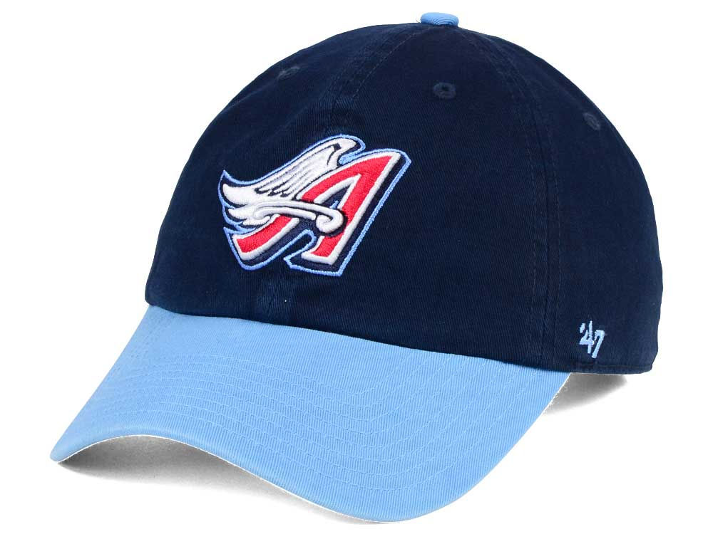 d20959e53ab Los Angeles Angels  47 MLB Cooperstown  47 CLEAN UP Cap