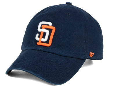 San Diego Padres '47 MLB Cooperstown '47 CLEAN UP Cap