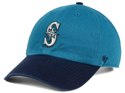 Seattle Mariners MLB Cooperstown '47 CLEAN UP Cap