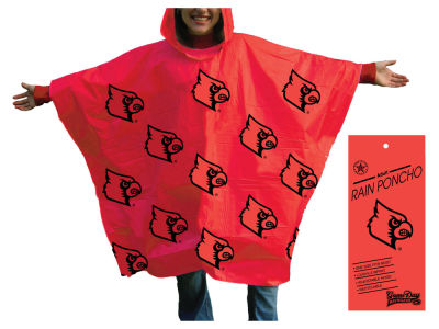 Louisville Cardinals All Over Poncho