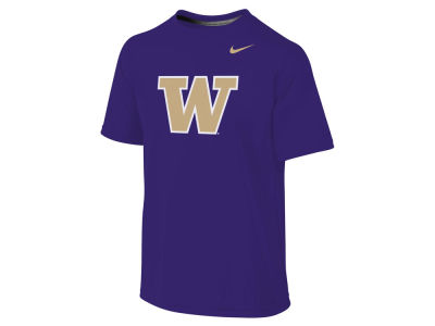 Washington Huskies Nike NCAA Youth Clubhouse Primary Logo T-Shirt