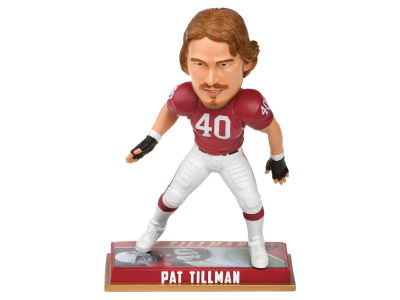 "Arizona Cardinals Pat Tillman Forever Collectibles 8"" Retired Player Bobbleheads"
