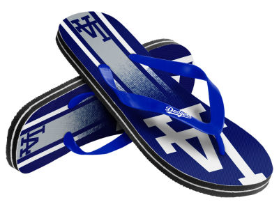 Los Angeles Dodgers Gradient Big Logo Unisex Flip Flop