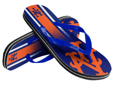 New York Mets Gradient Big Logo Unisex Flip Flop