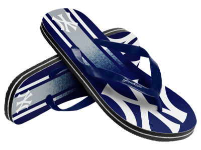 New York Yankees 10 Deep Gradient Big Logo Unisex Flip Flop