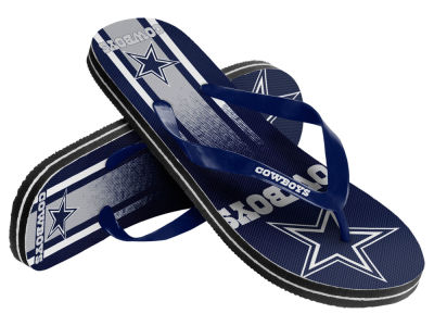 Dallas Cowboys Gradient Big Logo Unisex Flip Flop