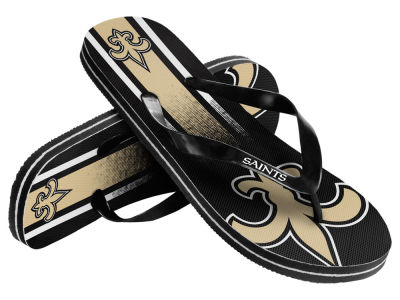 New Orleans Saints Gradient Big Logo Unisex Flip Flop