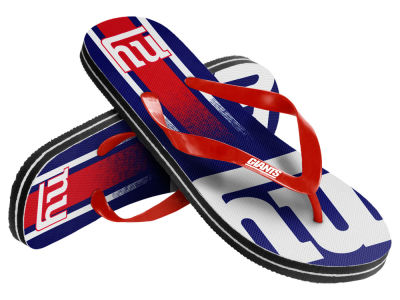 New York Giants Gradient Big Logo Unisex Flip Flop