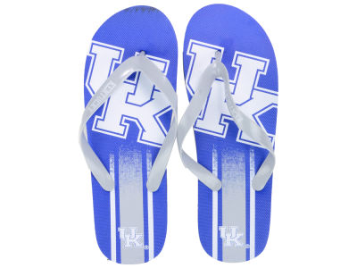 Kentucky Wildcats Forever Collectibles Gradient Big Logo Unisex Flip Flop