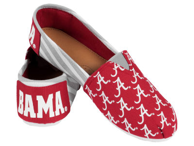 Alabama Crimson Tide Canvas Logo Shoe