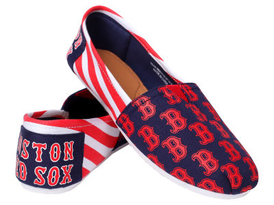 Boston Red Sox 10 Deep Canvas Logo Shoe