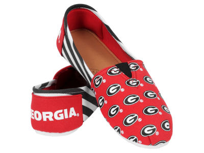 Georgia Bulldogs Canvas Logo Shoe