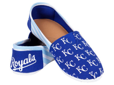 Kansas City Royals Canvas Logo Shoe