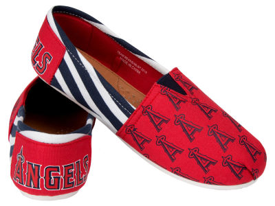 Los Angeles Angels Canvas Logo Shoe