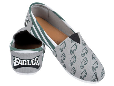 Philadelphia Eagles 10 Deep Canvas Logo Shoe