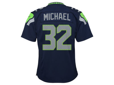 Seattle Seahawks Christine Michael Nike NFL Youth Game Jersey