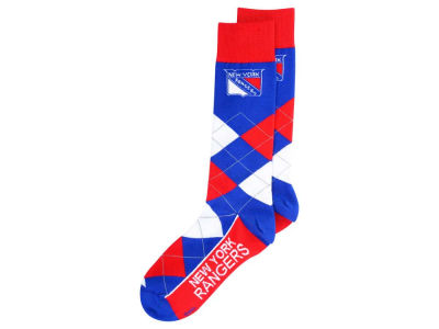New York Rangers Argyle Dress Socks