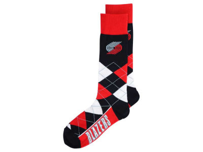 Portland Trail Blazers Argyle Dress Socks