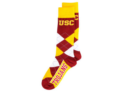 USC Trojans Argyle Dress Socks