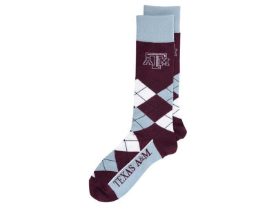Texas A&M Aggies Argyle Dress Socks