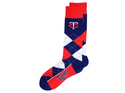 Minnesota Twins Argyle Dress Socks