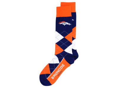 Denver Broncos Argyle Dress Socks