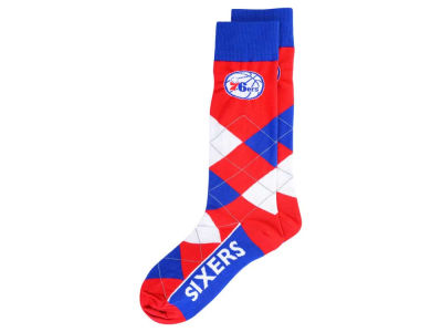 Philadelphia 76ers Argyle Dress Socks