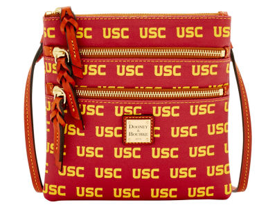 USC Trojans Dooney & Bourke Triple Zip Crossbody Bag