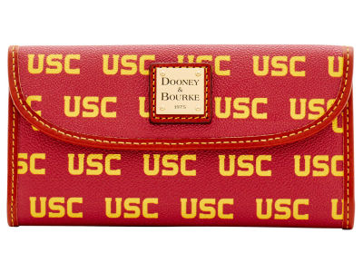 USC Trojans Dooney & Bourke Continental Clutch