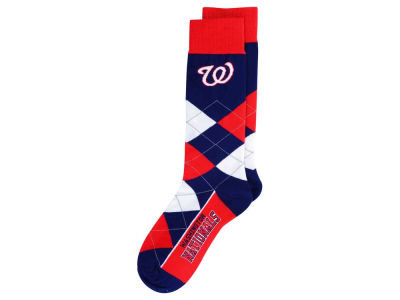 Washington Nationals Argyle Dress Socks
