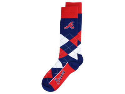 Atlanta Braves Argyle Dress Socks