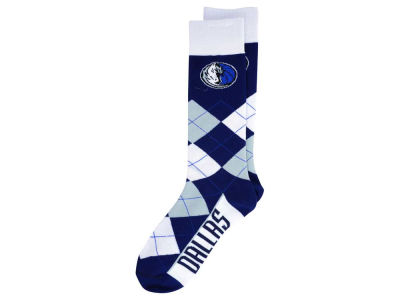 Dallas Mavericks For Bare Feet Argyle Dress Socks