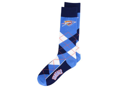 Oklahoma City Thunder Argyle Dress Socks