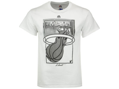 Miami Heat NBA 2 for $30 Majestic NBA Men's Fashion T-Shirt