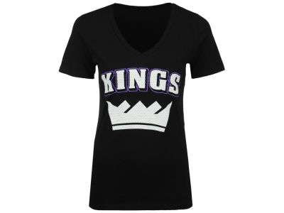 Sacramento Kings 5th & Ocean NBA Women's Mesh Logo T-Shirt