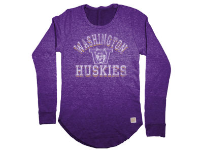 Washington Huskies Retro Brand NCAA Women's Crew Fleece Sweatshirt