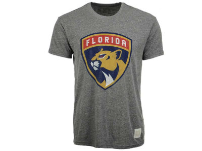 Florida Panthers Retro Brand NHL Men's Circle Tri-Blend T-Shirt