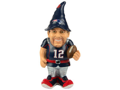 New England Patriots Tom Brady Forever Collectibles Resin Player Gnomes
