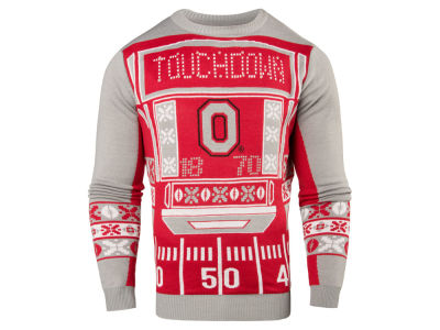 Ohio State Buckeyes NCAA Men's Light Up Novelty Sweater