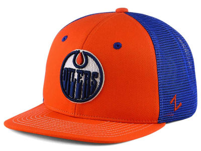 Edmonton Oilers Zephyr NHL Kids Screenplay Snapback Cap