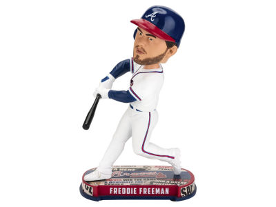 Atlanta Braves Freddie Freeman Forever Collectibles Headline Bobblehead