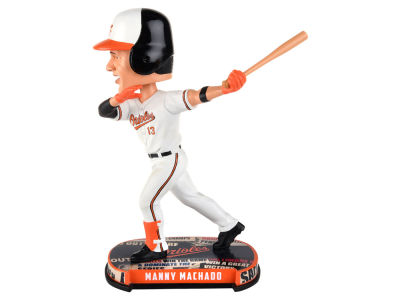 Baltimore Orioles Manny Machado Forever Collectibles Headline Bobblehead