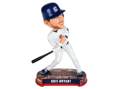 Chicago Cubs Kris Bryant Forever Collectibles Headline Bobblehead