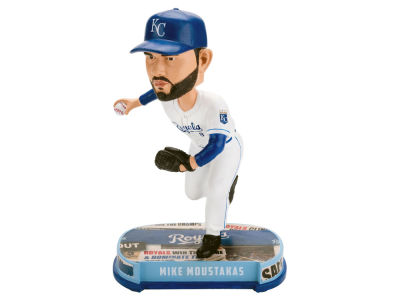 Kansas City Royals Mike Moustakas Headline Bobblehead