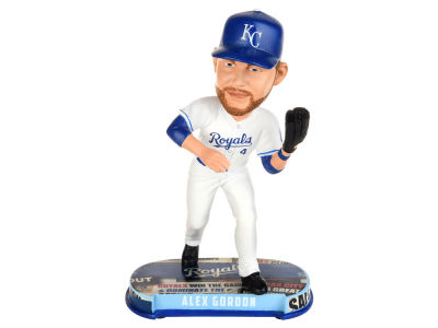 Kansas City Royals Alex Gordon Forever Collectibles Headline Bobblehead