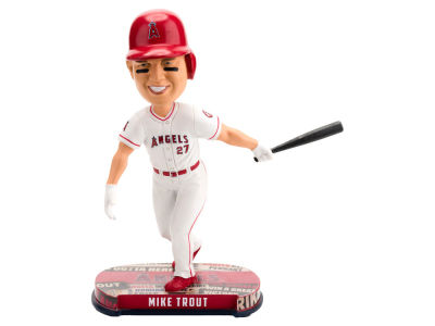 Los Angeles Angels Mike Trout Forever Collectibles Headline Bobblehead
