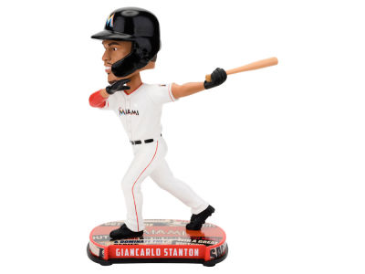 Miami Marlins Giancarlo Stanton Forever Collectibles Headline Bobblehead