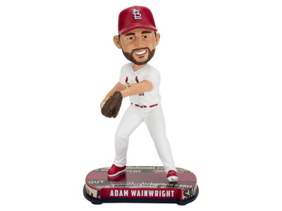 St. Louis Cardinals Adam Wainwright Forever Collectibles Headline Bobblehead