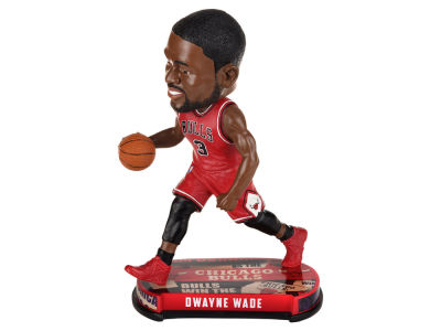 Chicago Bulls Dwyane Wade Forever Collectibles Headline Bobblehead