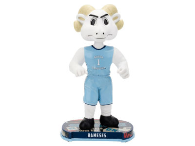 North Carolina Tar Heels Rameses Headline Bobblehead